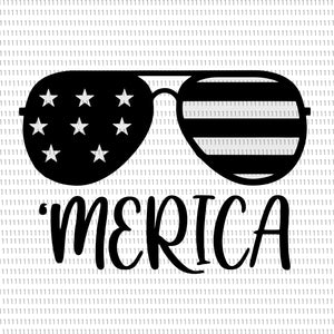 Merica, Merica SVG, Sunglasses with Flag, Sunglasses with Flag svg, Sunglasses with Flag png, 4th of July SVG, Patriotic Svg, 4th of July