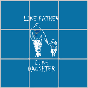 Like father like daughter svg, Play Gloria, Play Gloria Svg, St Louis Hockey Svg, Blues Gloria Svg, Blues Gloria svg, png, dxf,eps file for Cricut, Silhouette