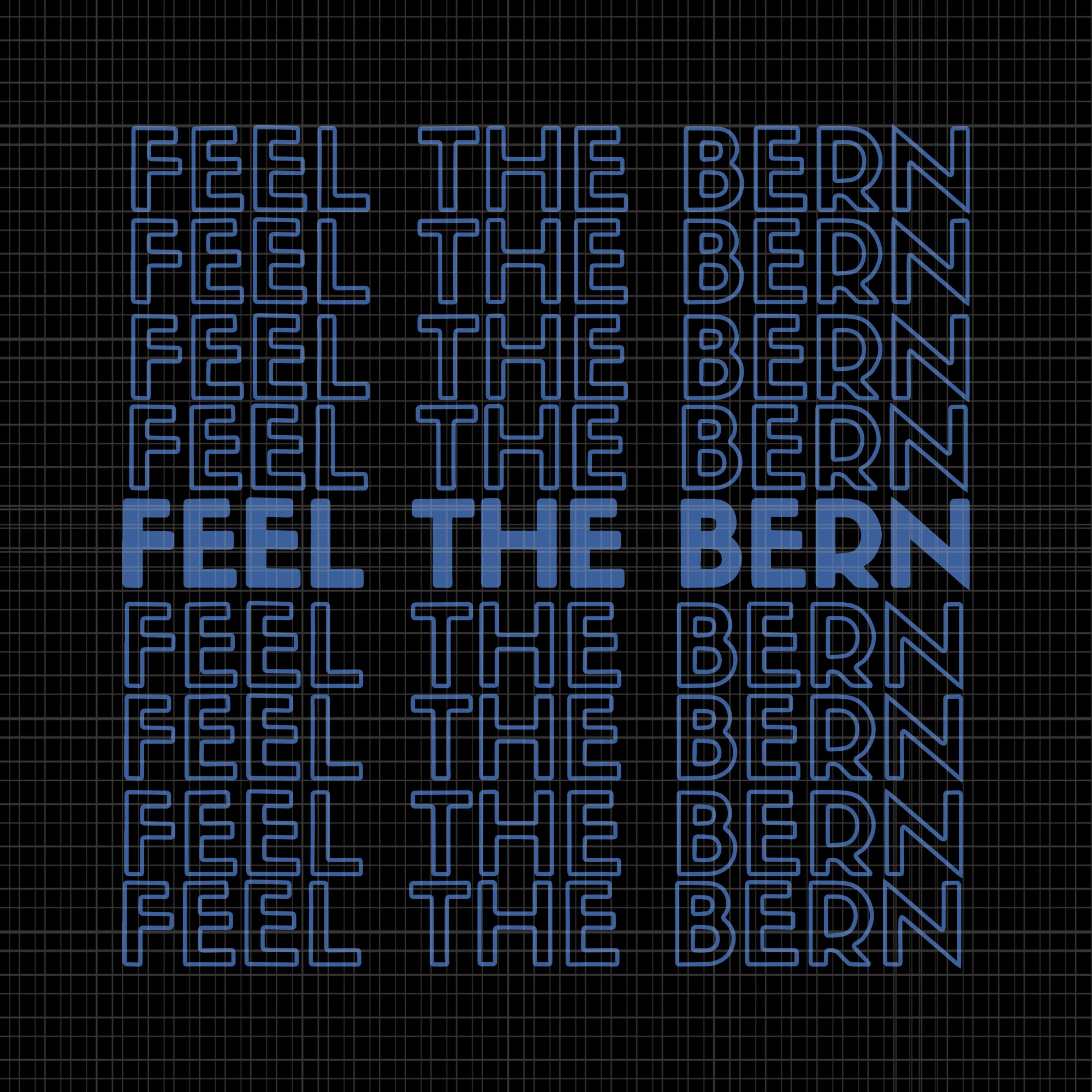 Feel the bern svg,feel the bern png,feel the bern vector,bernie fell the bern png,bernie sanders feel the bern vintage retro bernie 2020