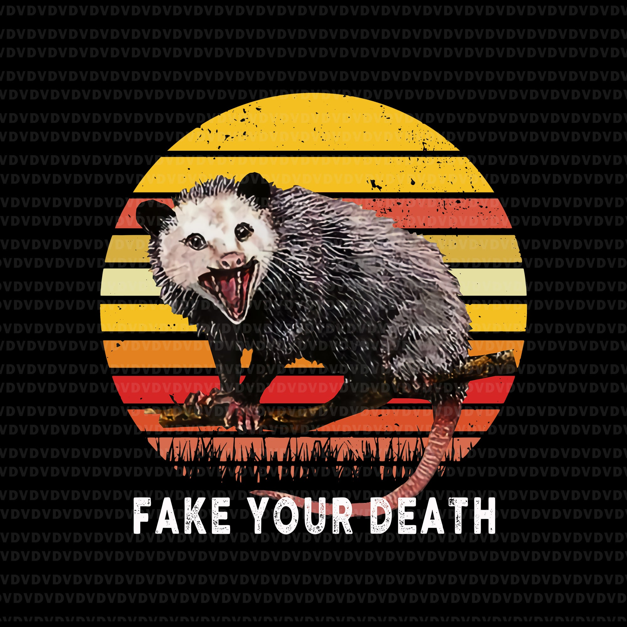 Live ugly fake your death opossum png, live ugly fake your death opossum, live ugly fake your death opossum design