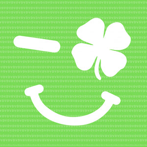Winking lucky four leaf clover emoji svg, winking lucky four leaf clover emoji, winking lucky four leaf clover emoji png, st patrick day svg, patrick day