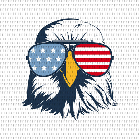Patriotic eagle with sunglasses svg, Patriotic eagle with sunglasses, 4th july svg, american eagle, american eagle svg, patriotic bald eagle, patriotic 4th july svg, amerain eagle with glasses svg,  amerain eagle with glasses