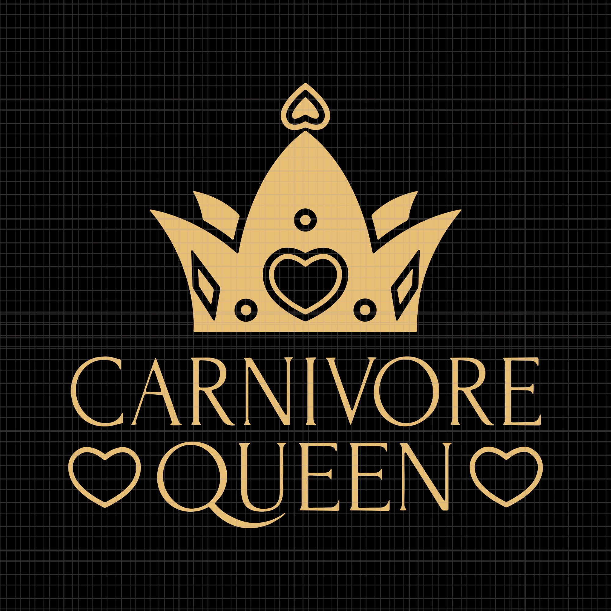 CARNIVORE QUEEN  svg, CARNIVORE QUEEN, CARNIVORE QUEEN  png, CARNIVORE QUEEN MEAT EATER STEAK LOVER CUTE GIRL WOMAN