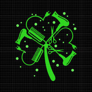 Hair stylist shamrock svg,hair stylist shamrock png,hair stylist svg, funny patrick's day svg,hair stylist patrick's day svg, st patrick's day, patricks day svg