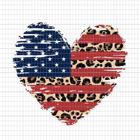 American Flag, American Flag PNG, American Flag Heart, American Flag Heart svg, Leopard Print, 4th of July, Heart Flag Distressed, American Flag Heart 4th of July, 4th of July svg, heart 4th of July svg, heart 4th of July