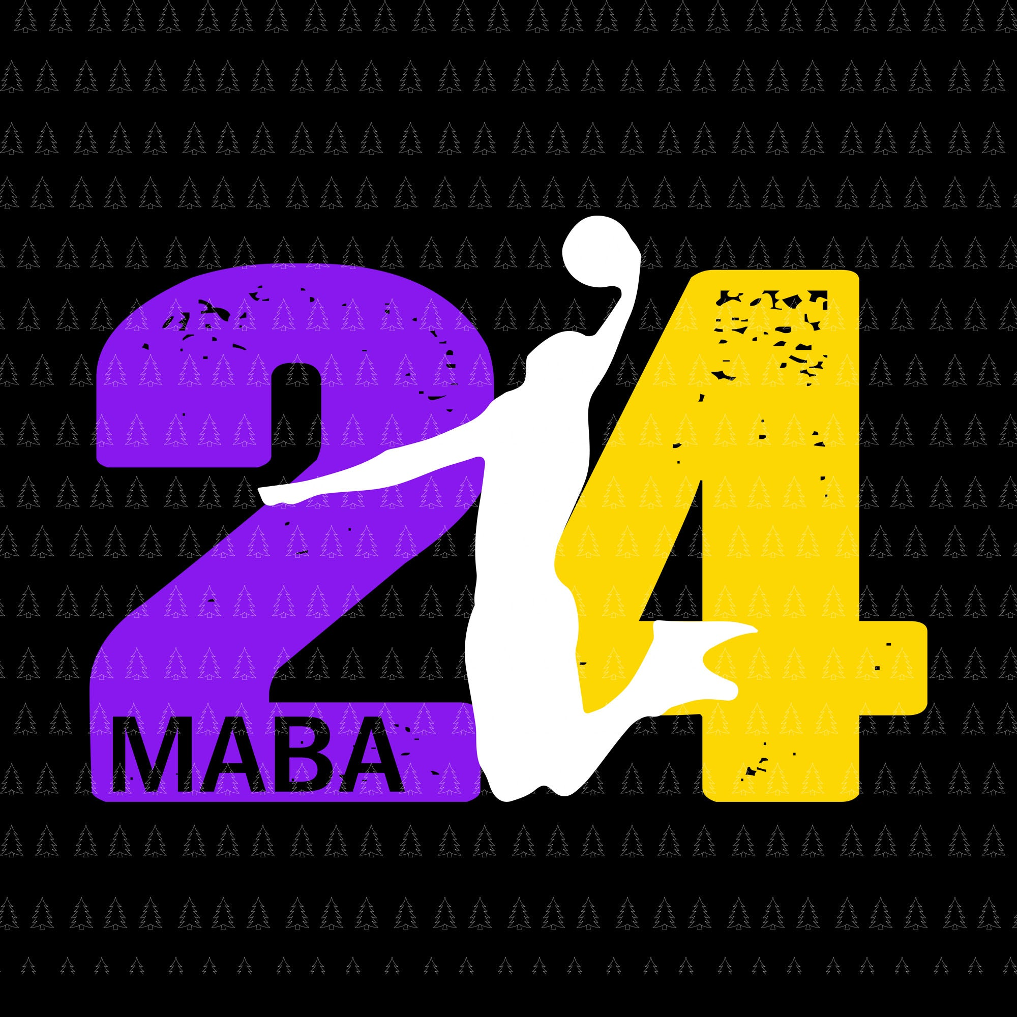 Angel Legend Mamba No.24 Basketball Legends Premium SVG,  kobe bryant,kobe bryant 24,kobe bryant svg,black mamba svg,kobe bryant