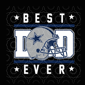 Best dad ever svg, Dallas Cowboys svg, Football svg, Dallas Cowboys logo, Dallas Cowboys, skull Dallas Cowboys file,Svg, png, dxf,eps file for Cricut, Silhouette