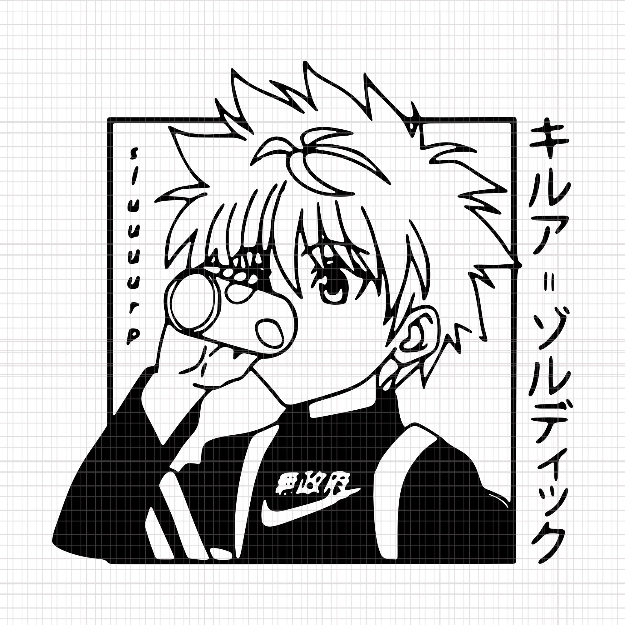 Killuas Gon Teams, Killuas Gon Teams svg, Killuas Gon Teams png, Killuas Gon Teams design,Killuas Gon Teams vector