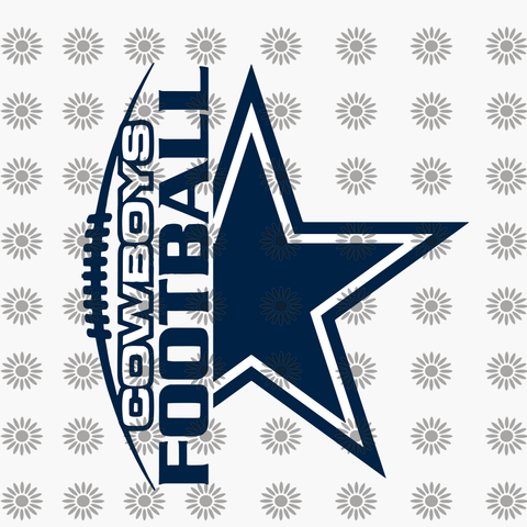 Dallas cowboy svg, png, dxf, eps file