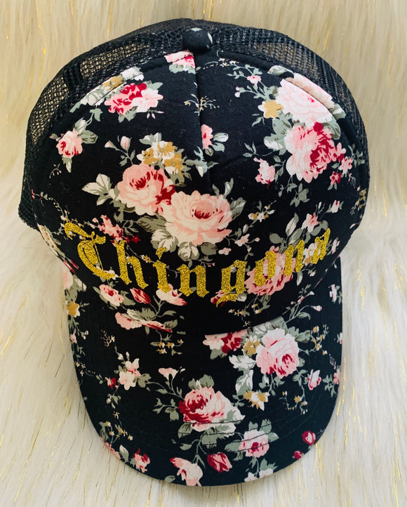 Chingona Flower Cap
