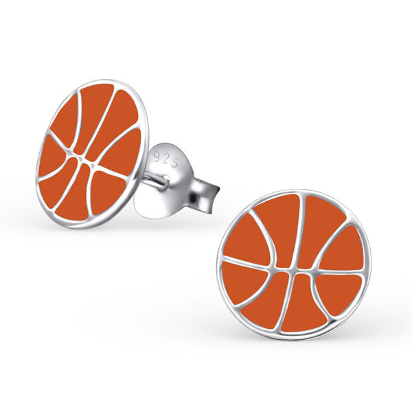 Basketball Earrings - Mya Grace - Snap Jewelry