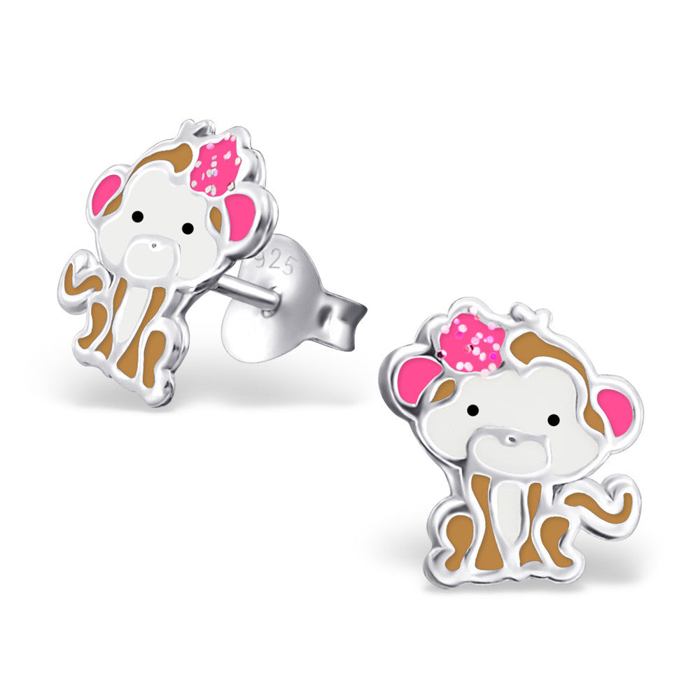 Cute Monkey Body Earrings - Mya Grace - Snap Jewelry