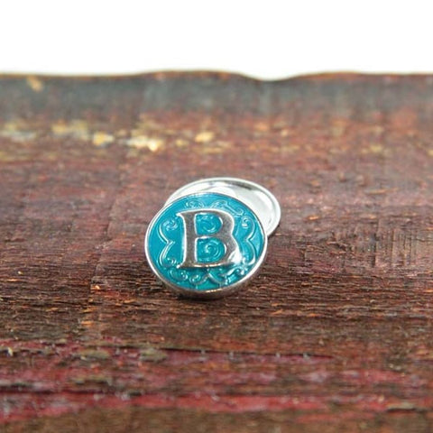 Letter B in Blue - Mya Grace - Snap Jewelry