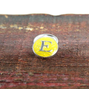 Letter E in Yellow - Mya Grace - Snap Jewelry