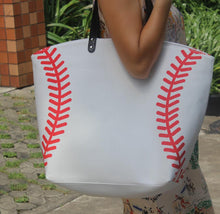 Baseball Bag with Fancy Monogram