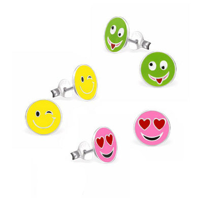 Emoji Fun Earring Set - Mya Grace - Snap Jewelry