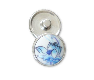 Lotus Bloom in Blue - Mya Grace Jewelry