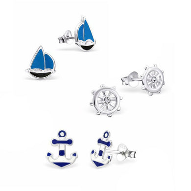 Let's Sail Away Earring Set - Mya Grace - Snap Jewelry