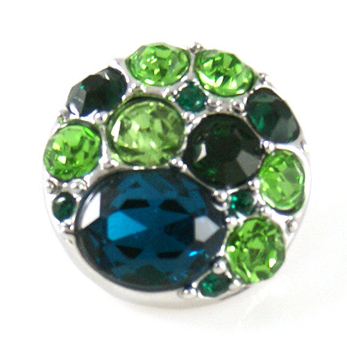 The Dorothy in Green - Mya Grace - Snap Jewelry