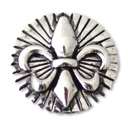 Fleur de Lis with Burst - Mya Grace Jewelry