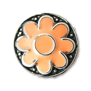 Orange Flower - Mya Grace Jewelry