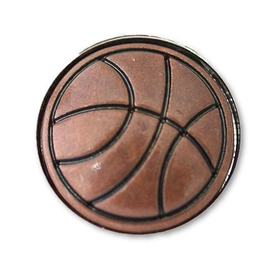 Basketball in Copper - Mya Grace Jewelry