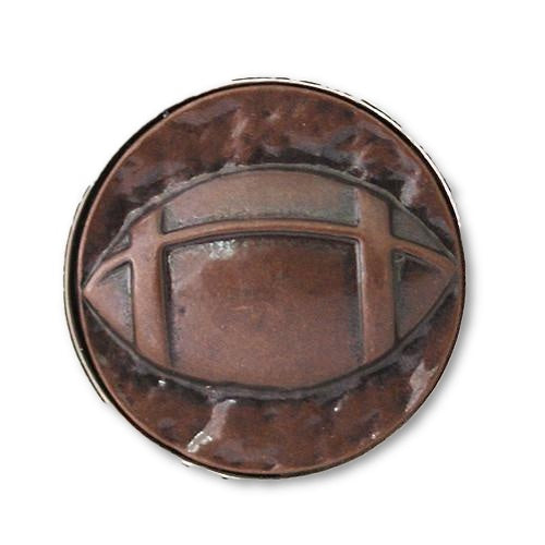 Football in Copper - Mya Grace Jewelry