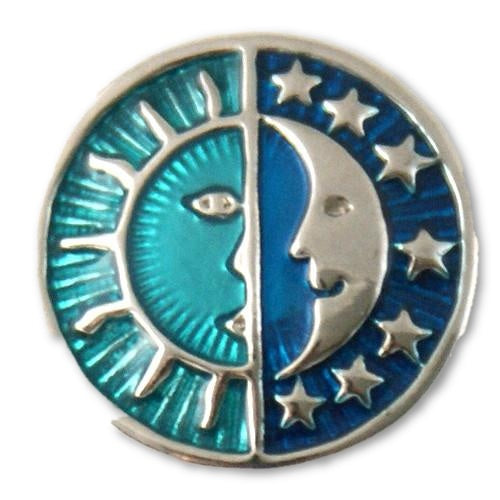 Sun & Moon in Blue - Mya Grace Jewelry