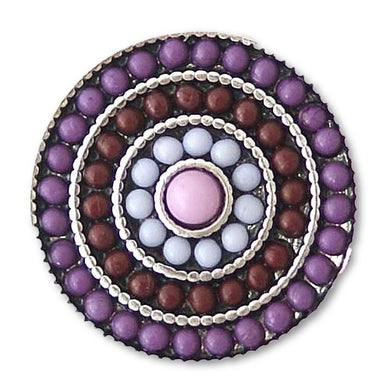 Beaded Rings in Purple - Mya Grace Jewelry