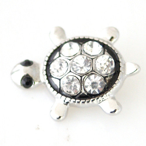 Rhinestone Turtle - Mya Grace - Snap Jewelry