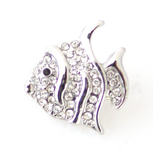 Rhinestone Angelfish - Mya Grace - Snap Jewelry