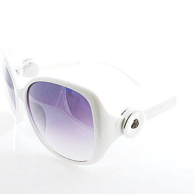 Juliana Sunglasses in White - Mya Grace - Snap Jewelry