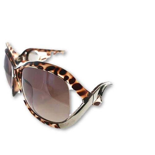 Hailey Sunglasses in Brown - Mya Grace Jewelry