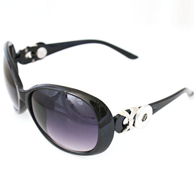 Margaret Sunglasses in Black - Mya Grace - Snap Jewelry