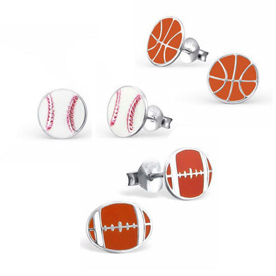 Sports Earring Set - Mya Grace - Snap Jewelry