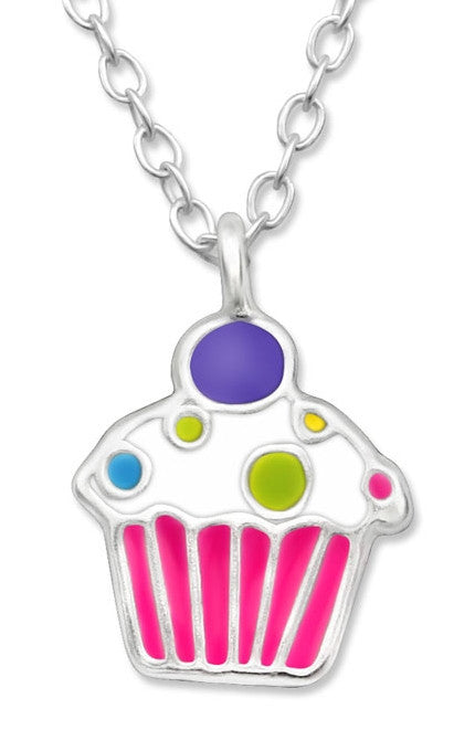 Cupcake Necklace - Mya Grace - Snap Jewelry