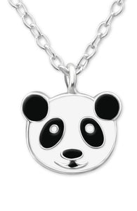 Panda Face Necklace - Mya Grace - Snap Jewelry