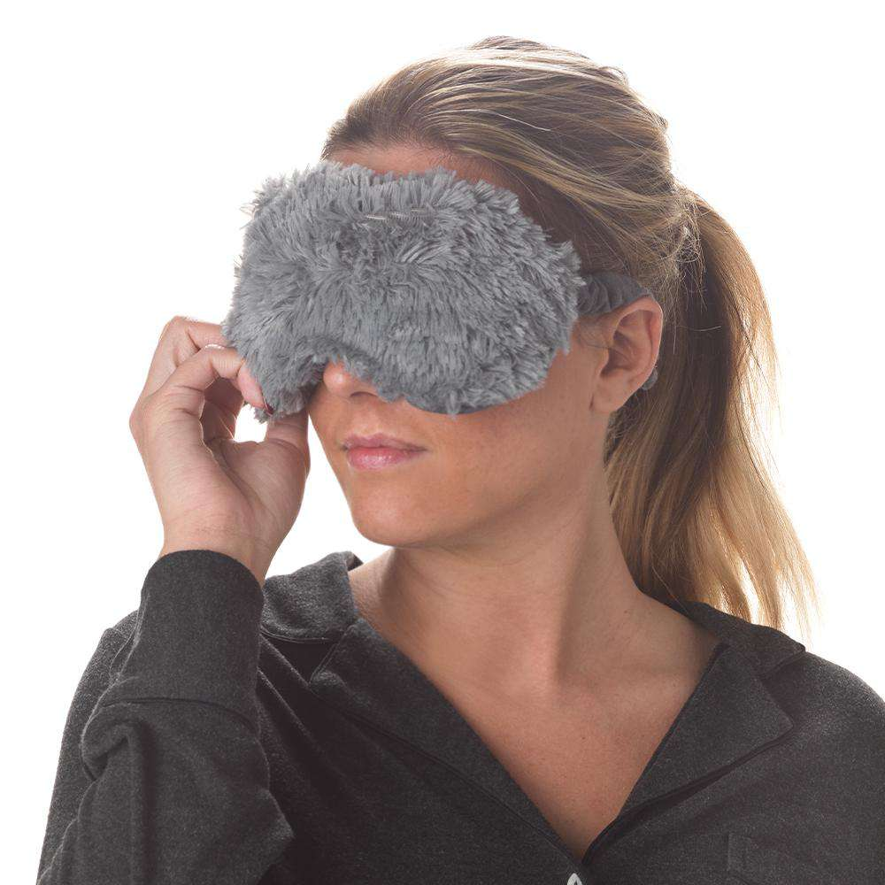 "Gray Warmies Eye Mask (8.5"") - Warmies USA"