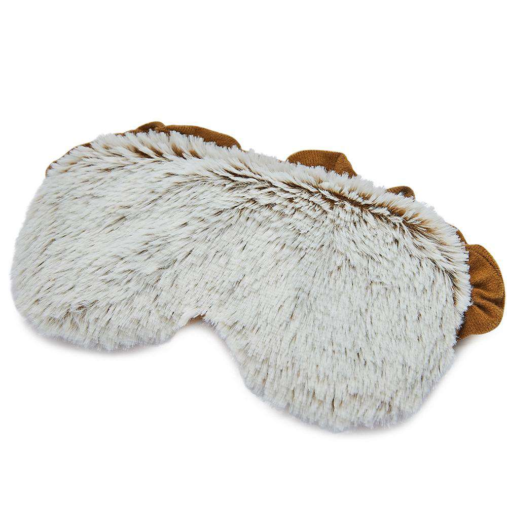 "Marshmallow Brown Warmies Eye Mask (8.5"") - Warmies USA"