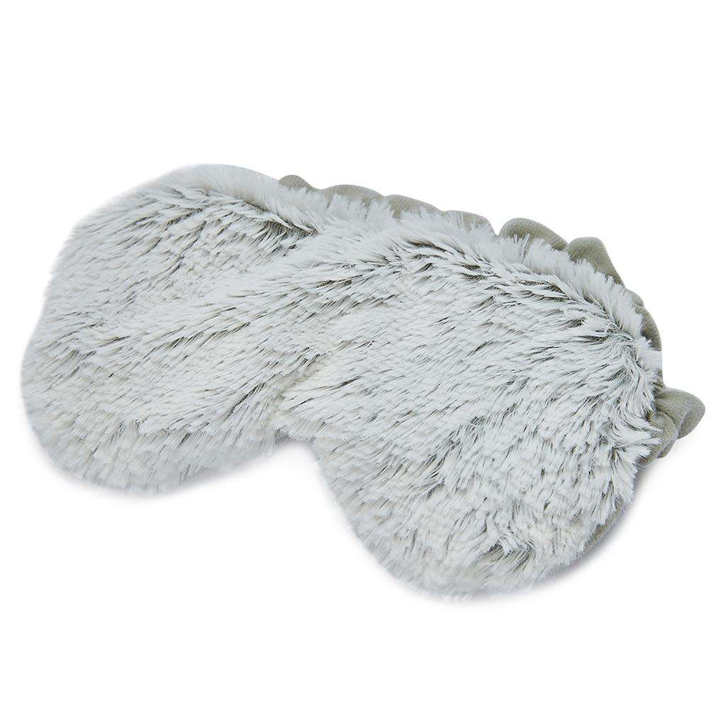 "Marshmallow Gray Warmies Eye Mask (8.5"") - Warmies USA"