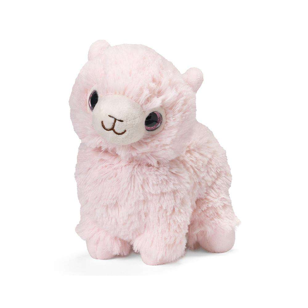 "Pink Llama Warmies Junior (9"") - Warmies USA"