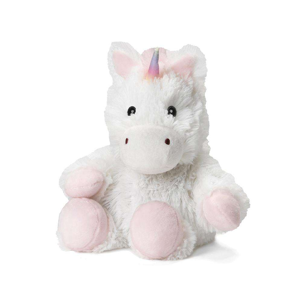 "White Unicorn Warmies Junior (9"") - Warmies USA"