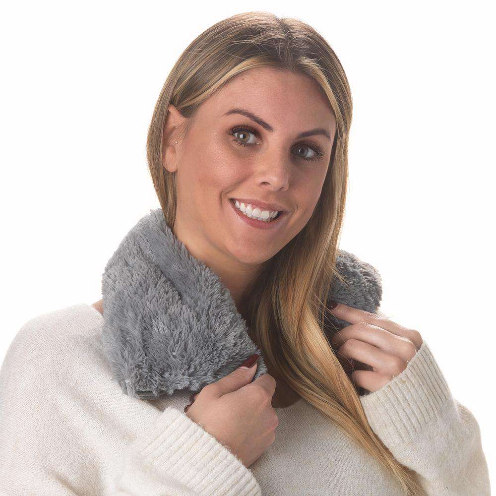 "Gray Warmies Neck Wrap (19"") - Warmies USA"
