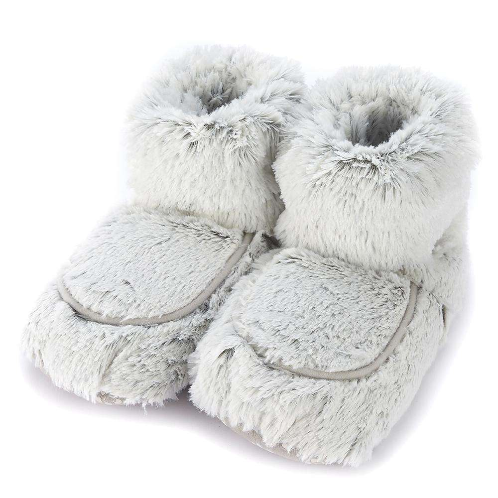 Marshmallow Gray Warmies Boots - Warmies USA