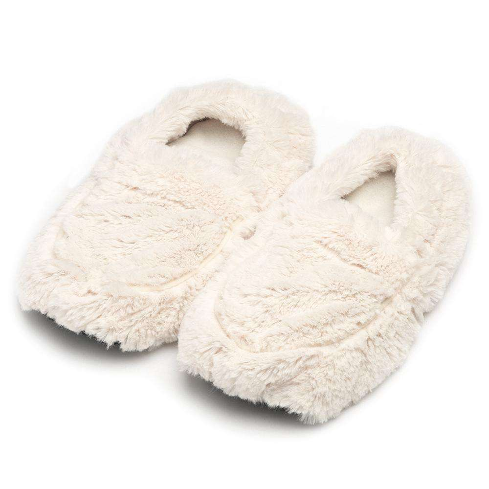 Cream Warmies Slippers - Warmies USA