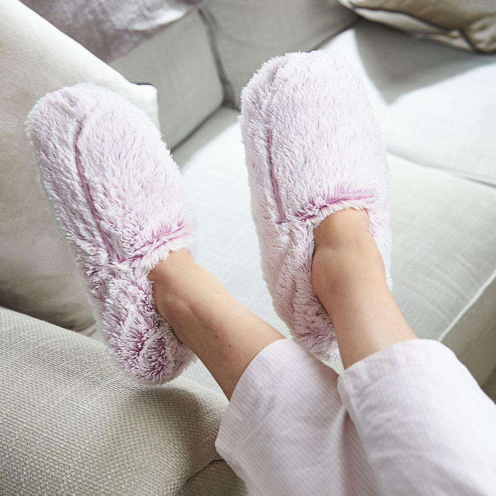 Marshmallow Pink Warmies Slippers - Warmies USA