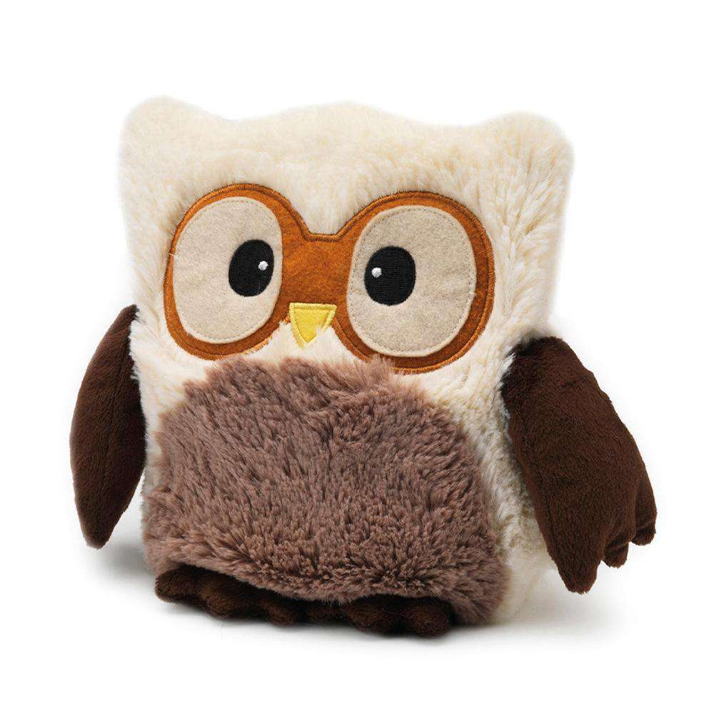 "Hooty Owl Cream (9"") - Warmies USA"