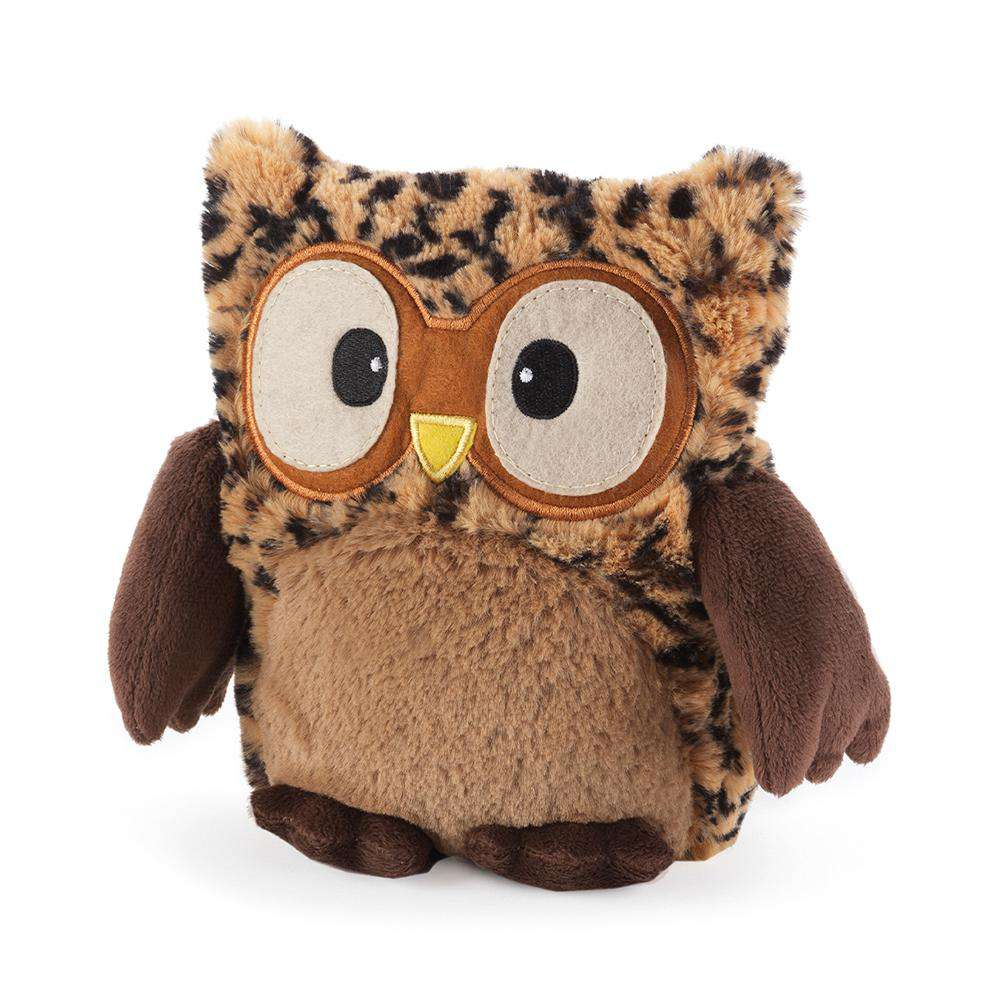 "Hooty Owl Tawny (9"") - Warmies USA"