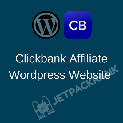 I will create clickbank Wordpress affiliate website for passive profits