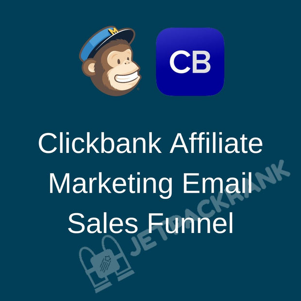 I will build clickbank affiliate marketing email sales funnel